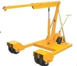 MFH78P Mobile Workshop Floor Cranes
