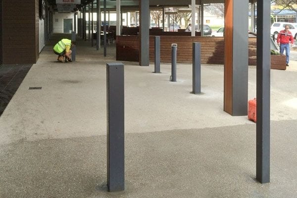 Fixed Square Bollards