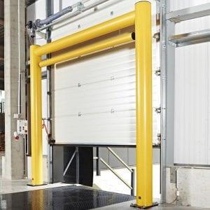 Flex Impact Goal Post over Roller Door