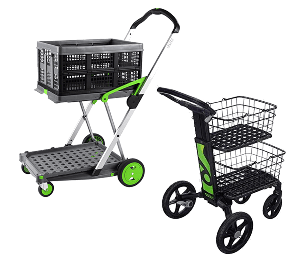Folding Clax Trolley and Scout Cart