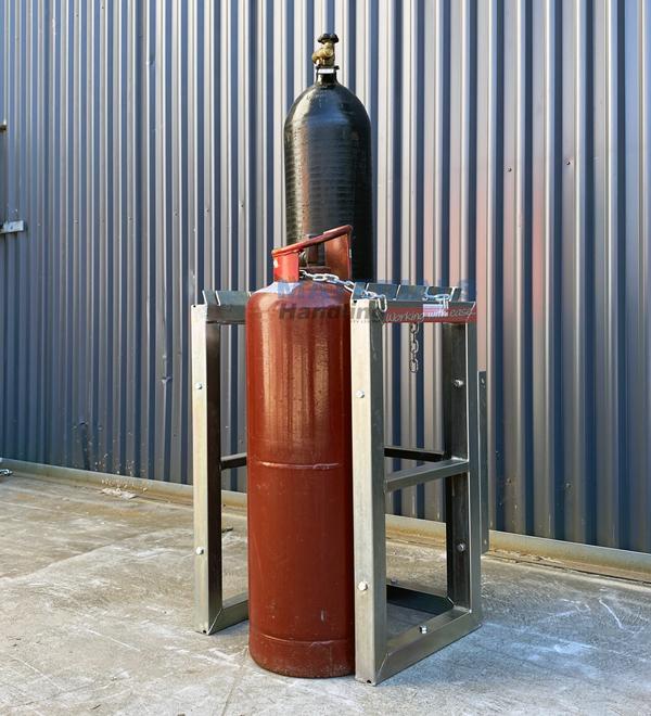 GBSR4 Gas Cylinder Storage Rack 2