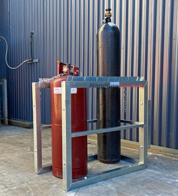 GBSR5 Gas Cylinder Storage Rack 5
