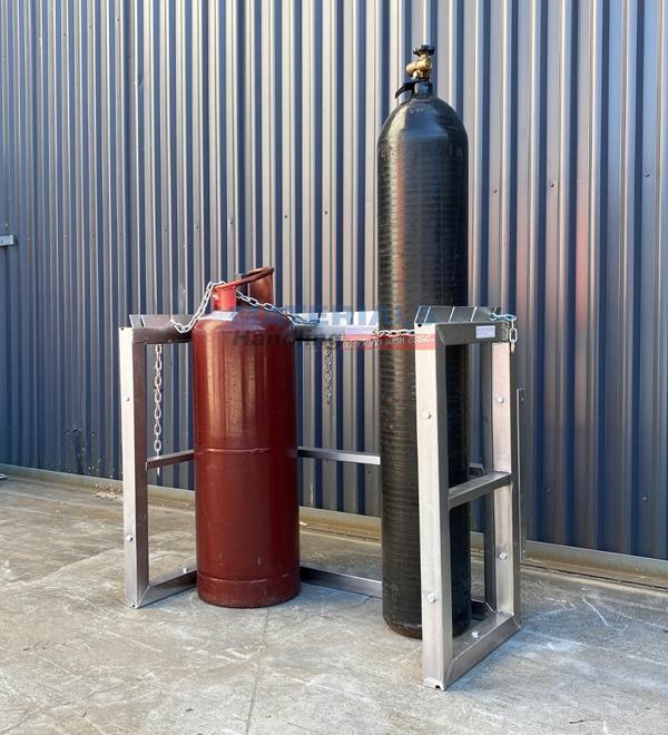 GBSR8 Gas Cylinder Storage Rack 4
