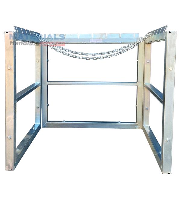 GBSR9 Gas Cylinder Storage Rack Main 3