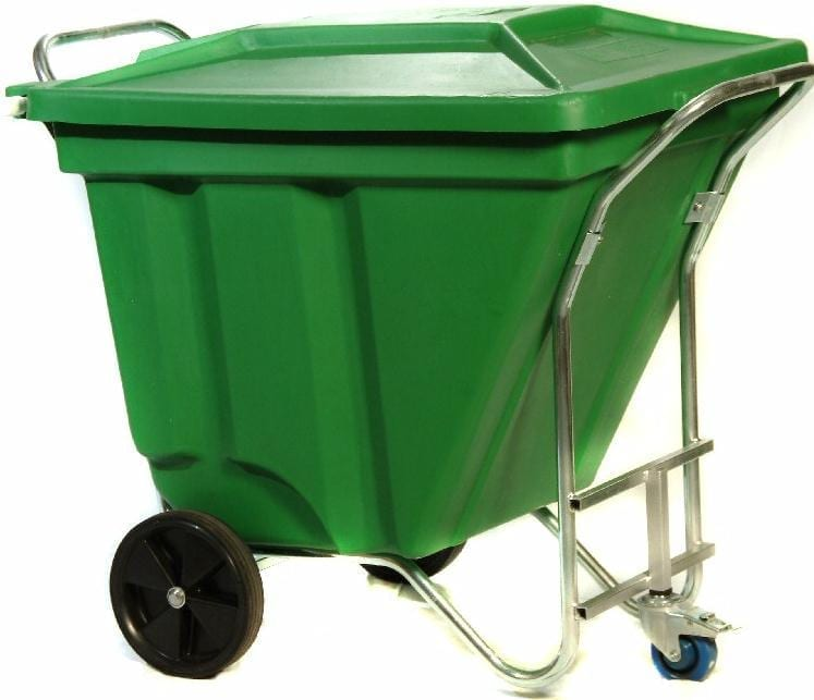 Gho Cart Mobile Waste Bins 3 wheel