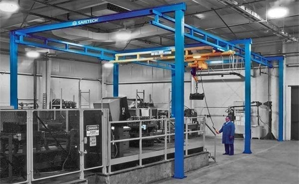 Gorbel Workstation Gantry Crane