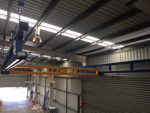 Gorbel Workstation Gantry Cranes