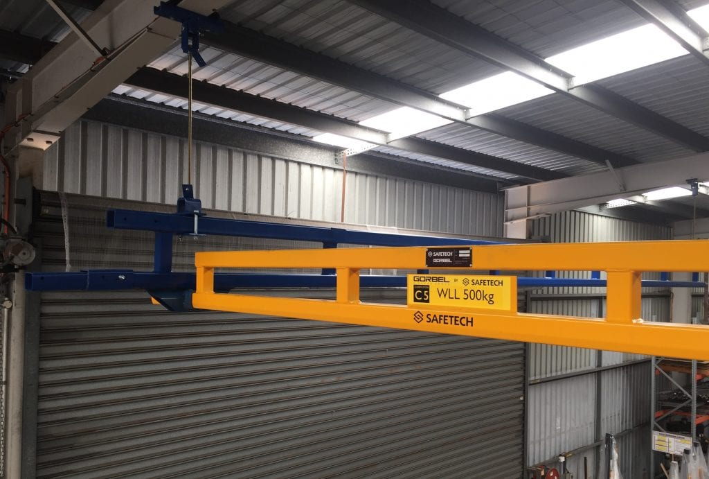 Gorbel Gantry Crane Workstation Ceiling Mounted