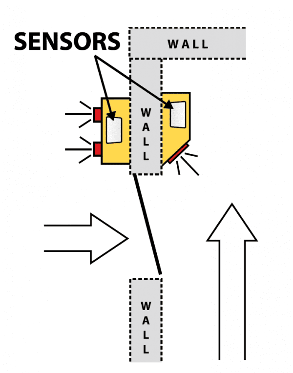 Hall Door Monitor 3 Top View Diagram