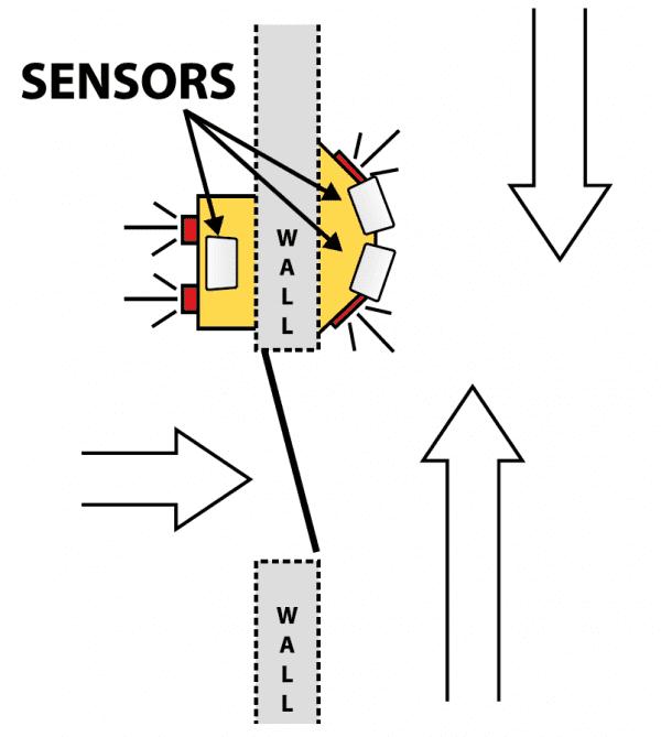 Hall Door Monitor 4 Top View Diagram