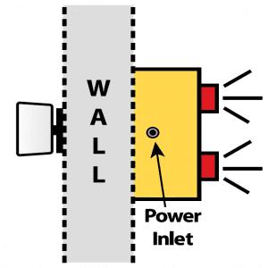 Hall Door Monitor Basic Diagram