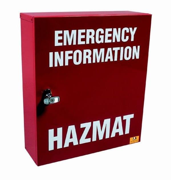 Hazmat Emergency Manifest Storage Cabinet DAU25001 closed