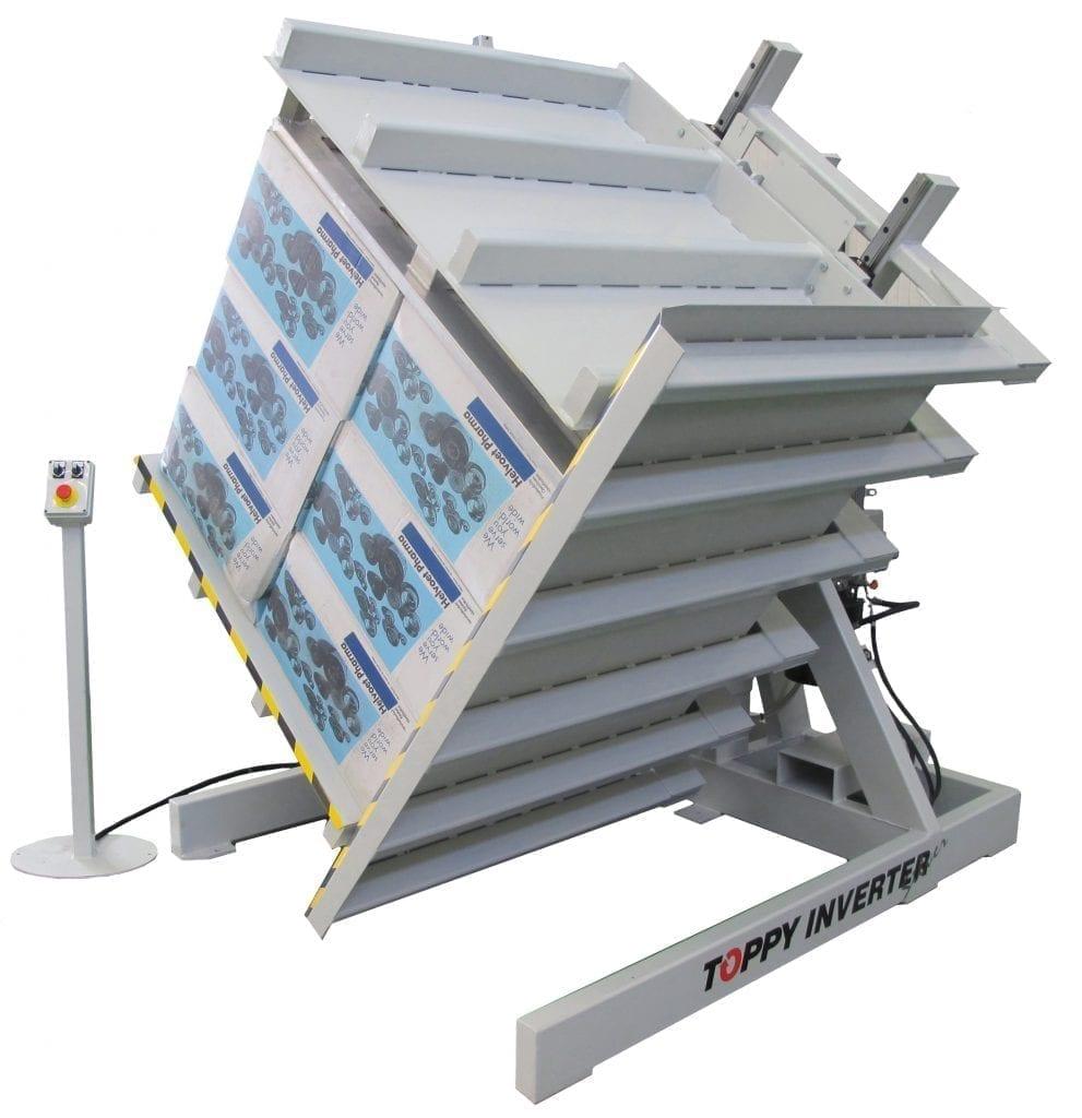 Toppy Floor Level Pallet Inverter