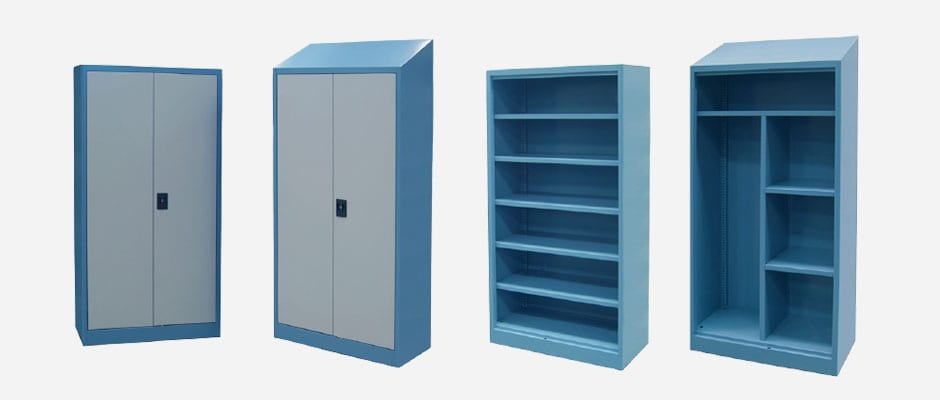 Industrial Cupboards Flat Top and Slope
