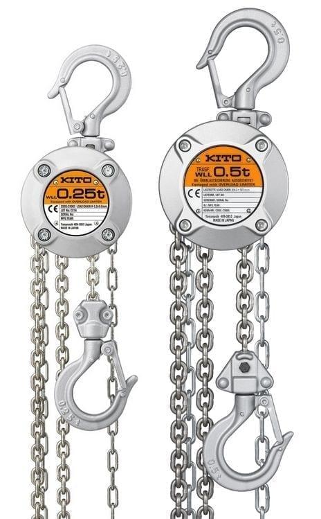 KITO LCX003 LCX005 CX Series Chain Block 4