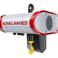 KONE clx electric chain hoist with hook suspension