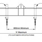 LCSB Crane Spreader Beam Drawing