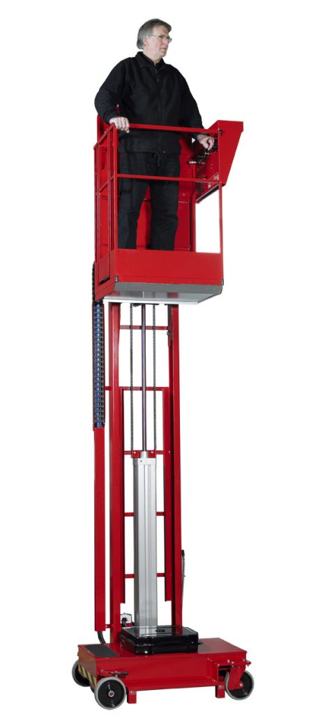 LIFT MAN– Pneumatic Personnel Access Platform Mobile