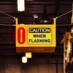 Caution When Flashing - Collision Awareness