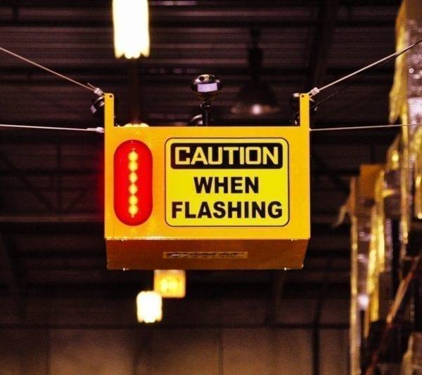 Caution When Flashing - Collision Awareness