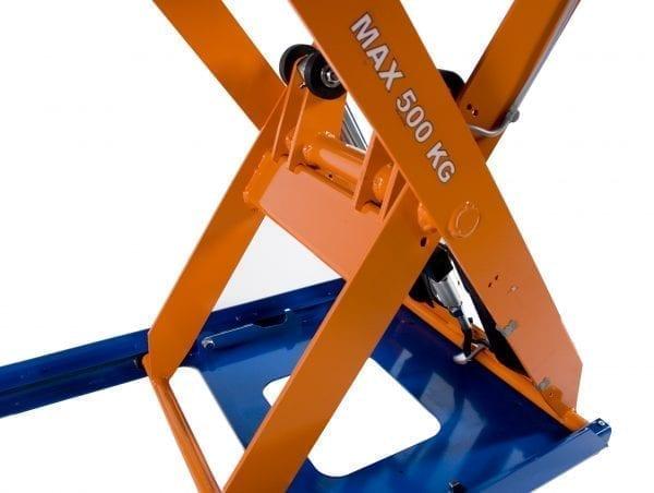 Low Profile Scissor close up 2