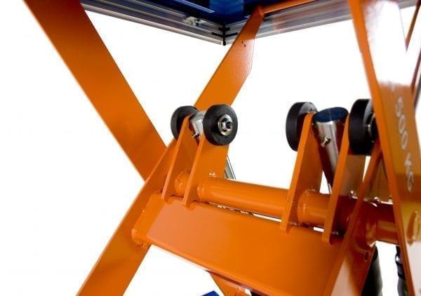 Low Profile Scissor close up