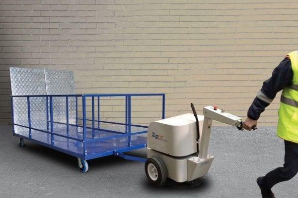 M512 Wheelie bin trailer 6 bins