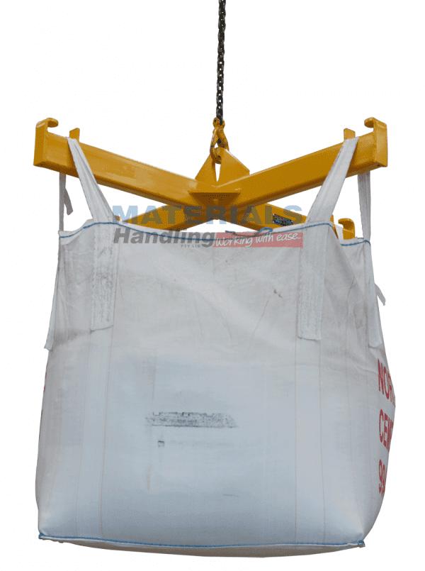 MBBF4 Bulk Bag Lifting Frame with bag