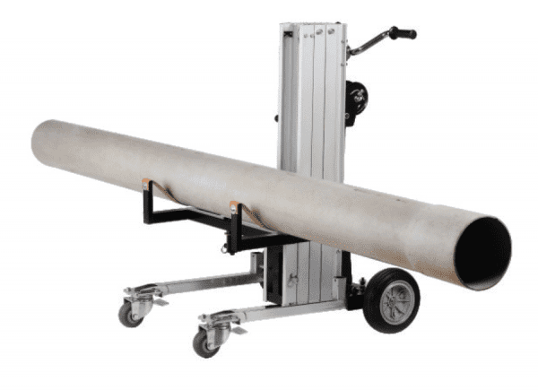 Multi Purpose Material Lifter MBD180 with cylinder, pipe cradle attachment