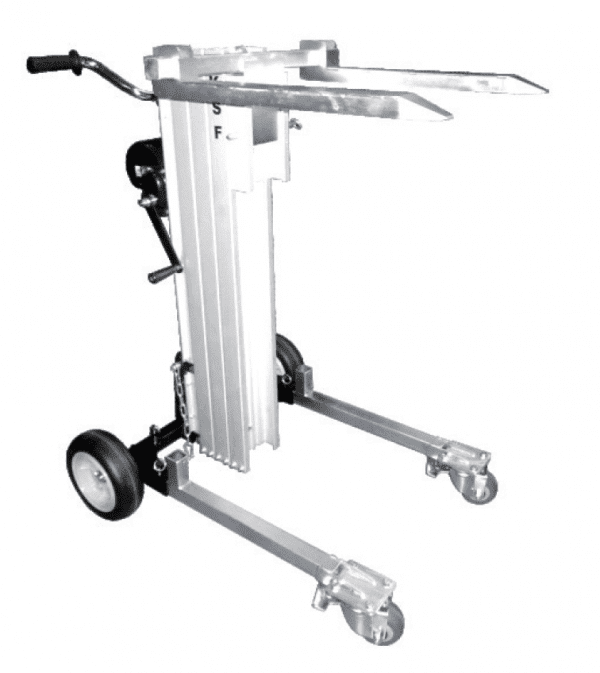 Multi Purpose Material Lifter MBD180 with fork attachment