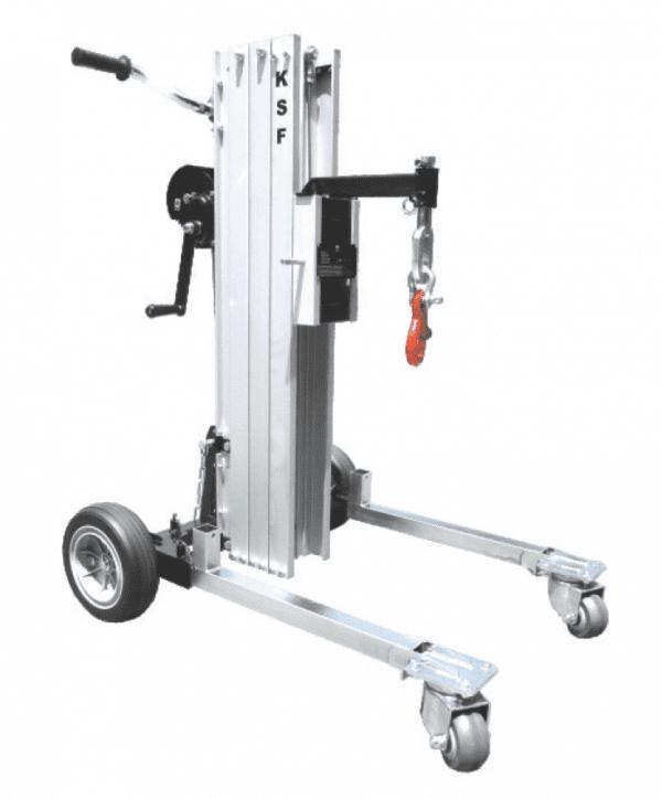 Multi Purpose Material Lifter MBD180 with jib crane attachment