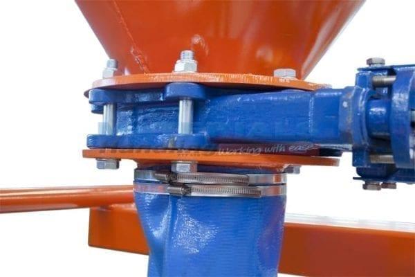 MBGK10 Concrete and Grout Kibbles - valve mechanism