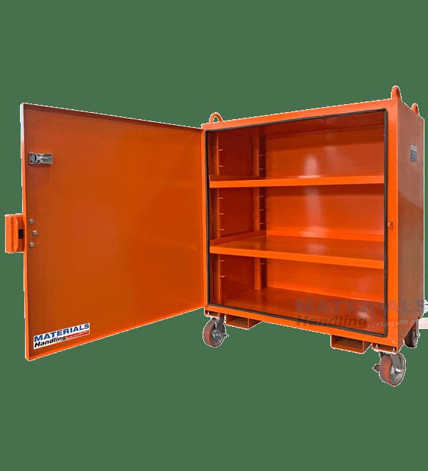MBJL12 Site Tool Cabinet open