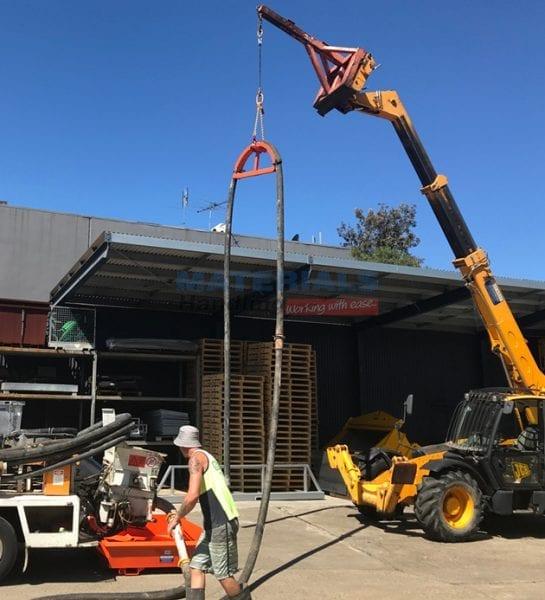 MCML50 Concrete Pump Line Hanger