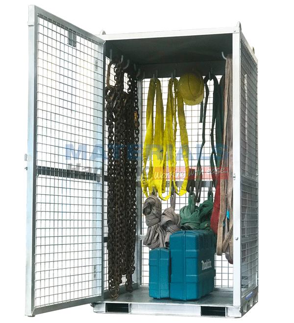 MCNGC10 Rigging Storage Cage full