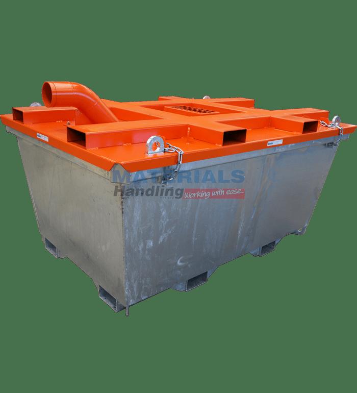 MCPC23 Concrete Washout Bin Main