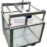 MCSPN CL Goods Cage Lifting Frame in use