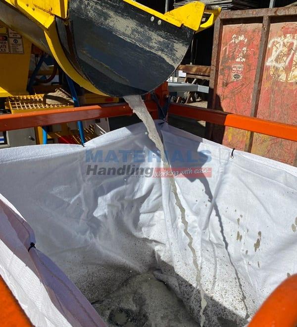 MCSS115 Concrete Washout Filtration Unit in application 2