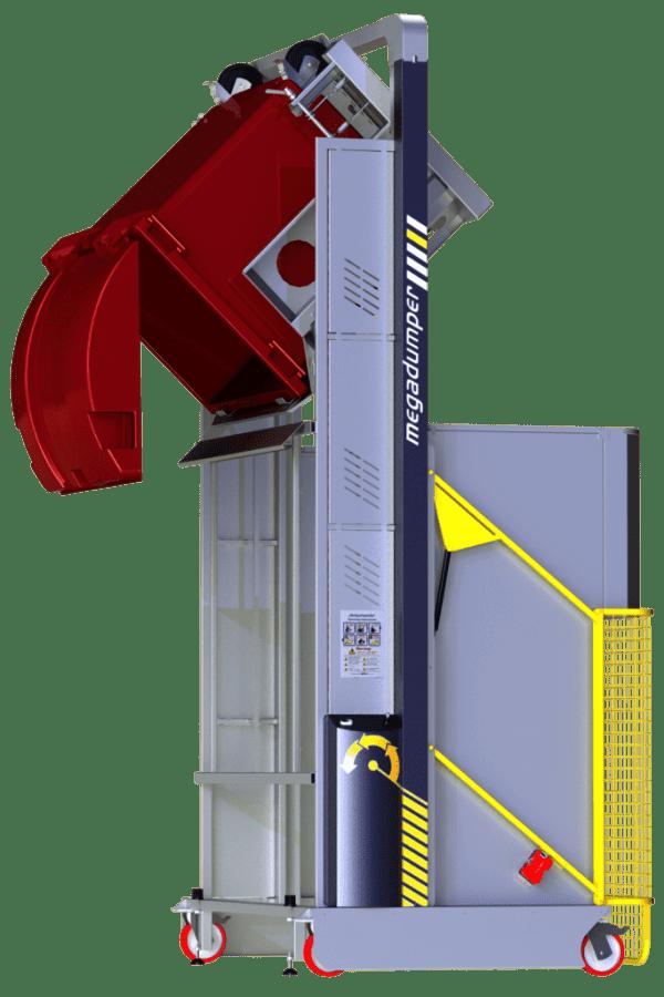 MD2100 1100l bin eye height