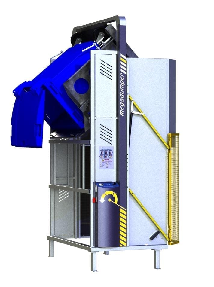 MegaDumper 660L with bolt-down option