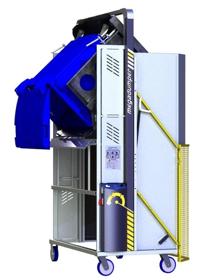 MegaDumper 660L with castors