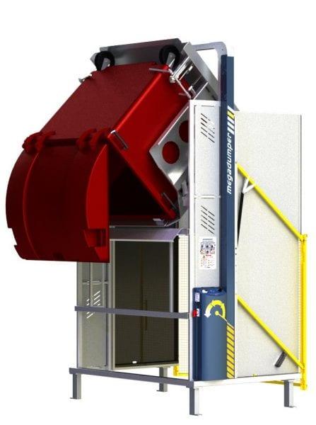 MegaDumper 1100L with bolt-down option