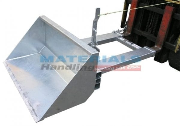 MDBM Forklift Manual Dirt Bucket