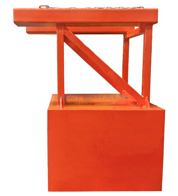 MFCA100 Bin Compactor Attachment side 3