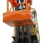 MFCA100 Bin Compactor Attachment - with forklift