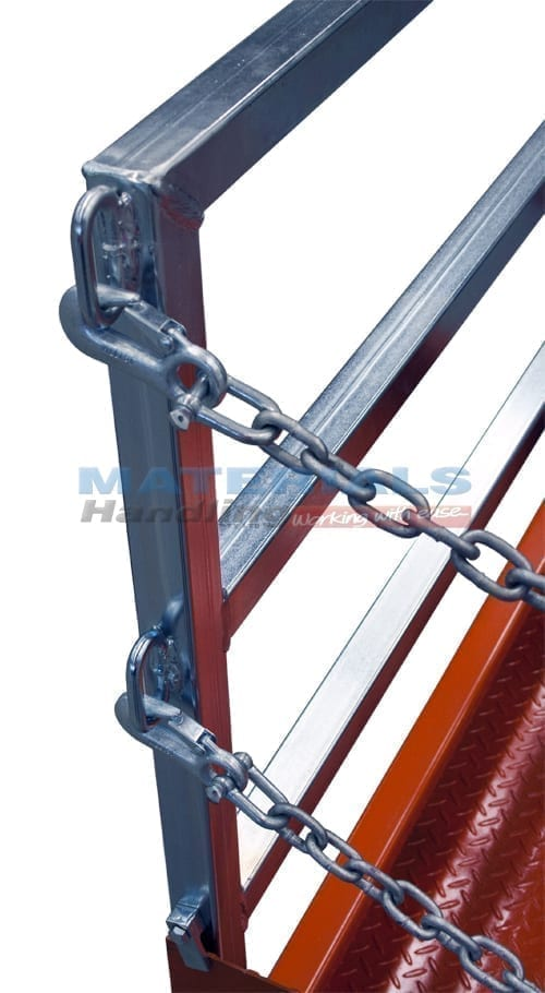 MFGC15 Forklift Goods Cage with safety chains