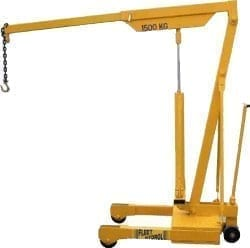 MFH98 Mobile Workshop Floor Cranes