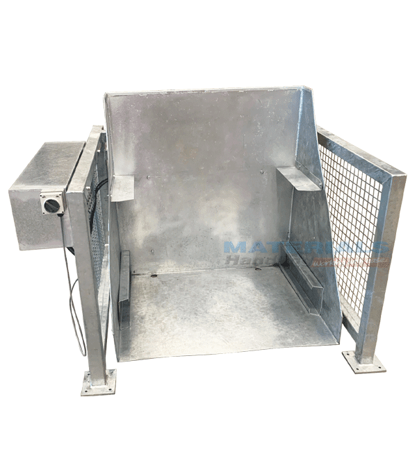 MFMBT1 Floor Mount Box Tipper Bin Retainers