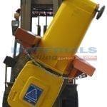 MFWB24 Forklift Mounted Wheelie Bin Tippers