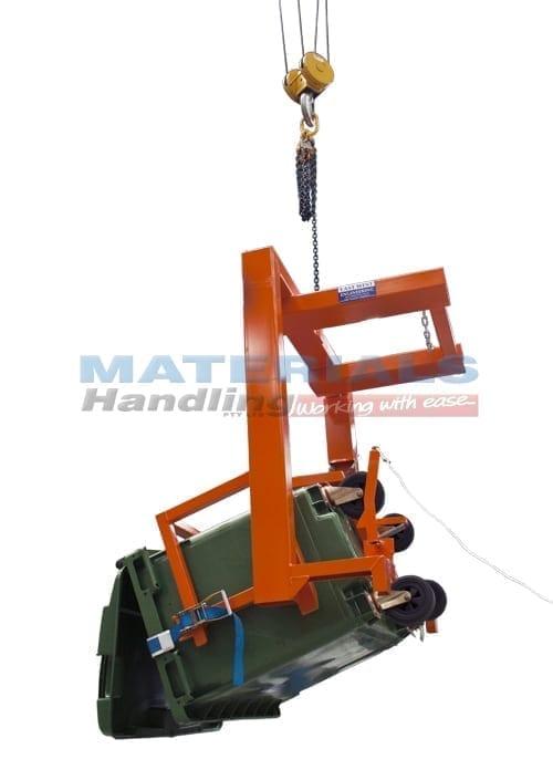 MFWC66 660L Wheelie Bin Tipper 1 overhead lift lo res
